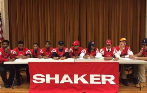 Shaker Football Celebrates 11 Recruits on National Signing Day