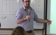 New Art Teacher Finds His Zone in Shaker