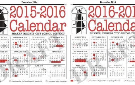 New Calendars Extend Thanksgiving Break