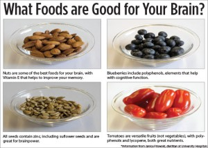 Buzz brain food infographic