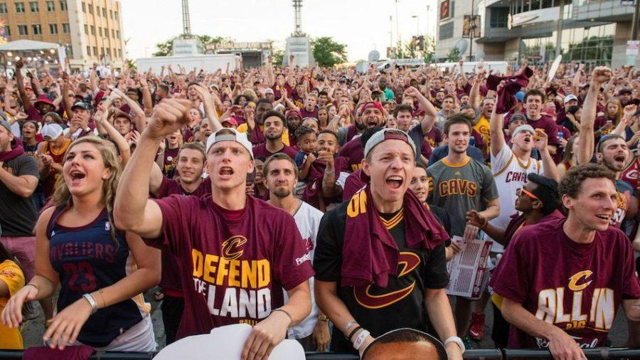 Cleveland+sports+fans+finally+had+their+dreams+come+true+as+their+52+year+championship+drought+ended+with+a+93-89+victory+for+the+Cleveland+Cavaliers+over+the+Golden+State+Warriors+on+Sunday.