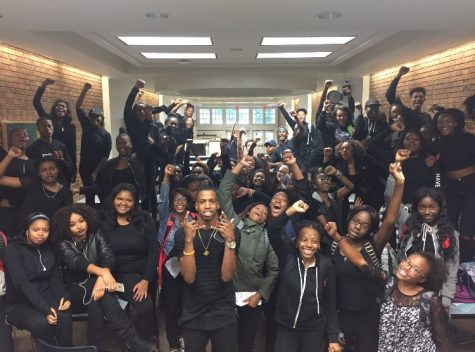 "Students Black Out ""America Monday"""