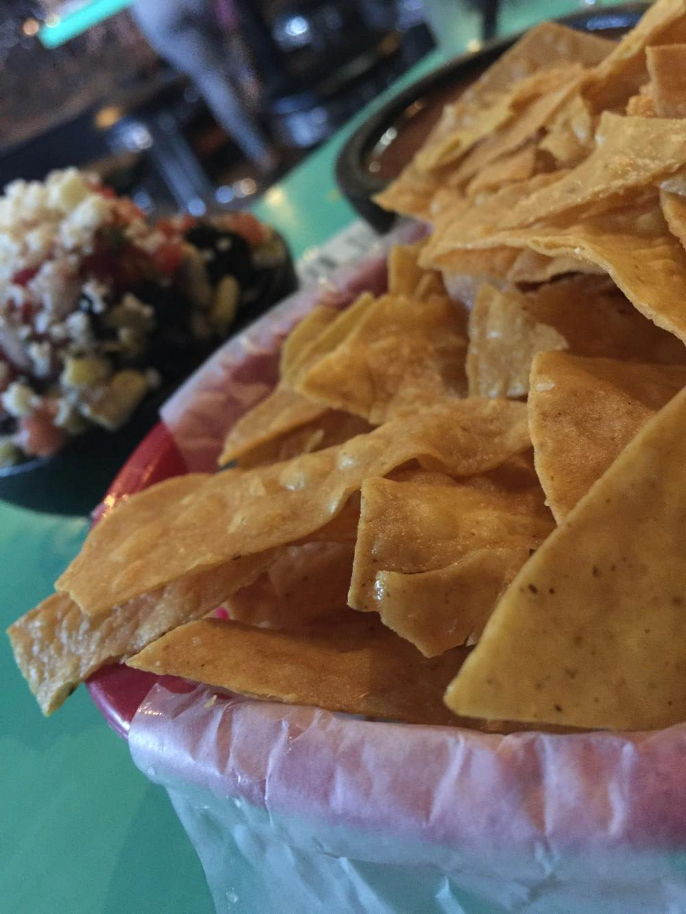Chips and salsa at the recently opened Barrio on Fairmount in Cleveland heights