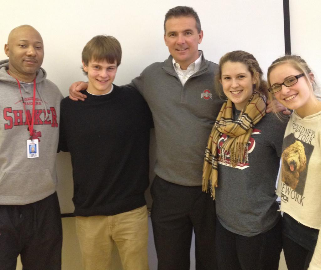 Urban+Meyer+Visits+SHHS