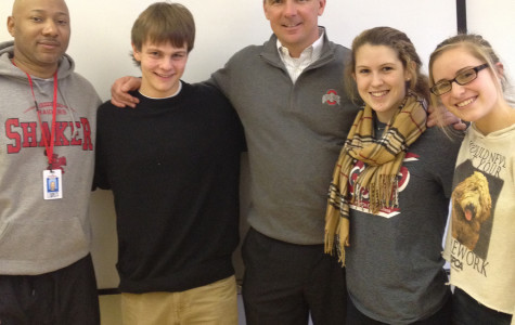 Urban Meyer Visits SHHS