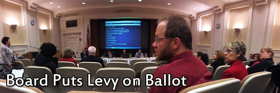 Board Votes to Put Conservative Levy on May Ballot