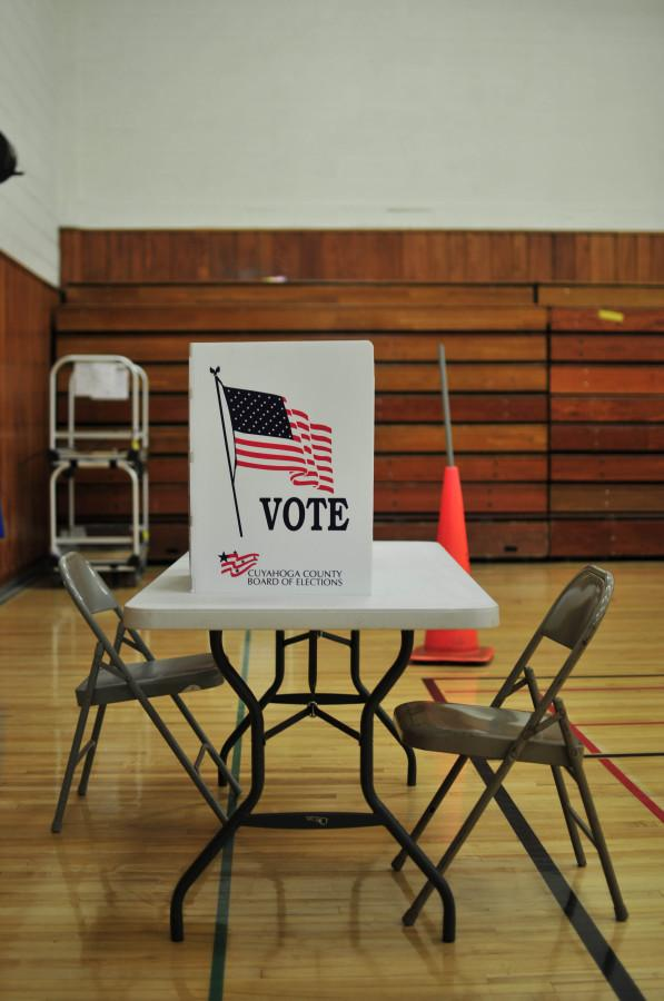 Midterm elections were held at Woodbury Elementary School May 6.