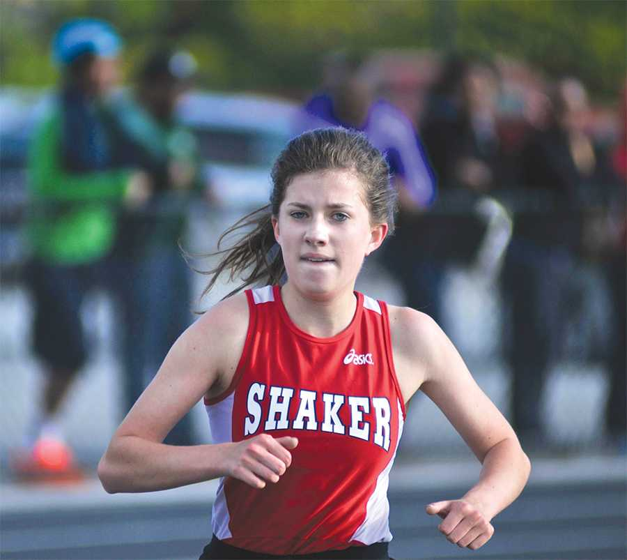 Senior Chloe Binczyk holds the school record in the 3200-meter run with a time of 10:57. Binczyk has qualified for  state competition twice for cross country, twice for track and four times for indoor track.