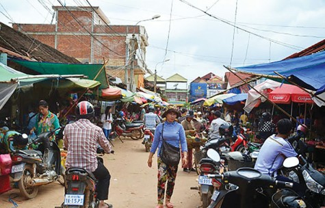 The exotic outdoor markets of Siem Reap, Cambodia contribute to the complex and ancient culture of the Southeast Asian country.