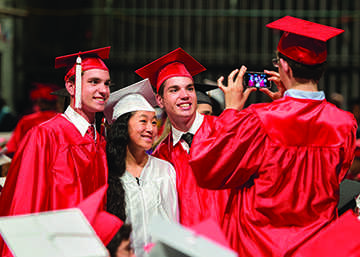 According to Ohio Department of Education's Associate Director of Media Relations John Charlton, the new system used to track graduation rates measures each student individually, rather than a class as a whole. Shaker's graduation rate went up six percentage points, a change attributed to the state's new measurment method and practices within the district.