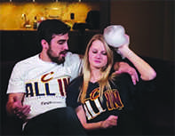 The Cleveland Cavaliers broadcast a video May 6 on the Quicken Loans Arena Jumbotron portraying a man throwing his female partner to the ground when he discovers she is not a Cavs fan. The Cavs removed the video and released a statement of apology after criticism from groups that aim to minimize domestic violence.