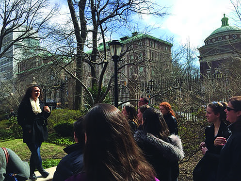 Between overzealous tour guides and an over-the-top construction project, there are some aspects of college tours that are universal.