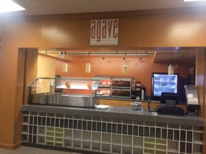 Agave Mexican Grill. The  healthy new take on school lunch.