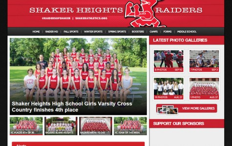 Shaker Athletics Updates Online Presence
