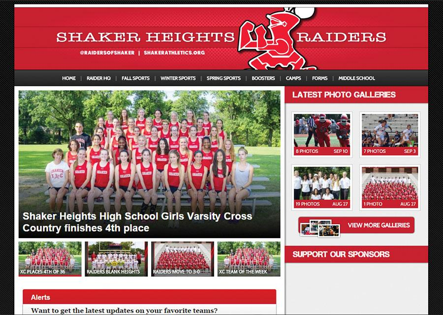 The new Shaker athletics site hosts pictures, articles and schedules for Shaker sports teams.