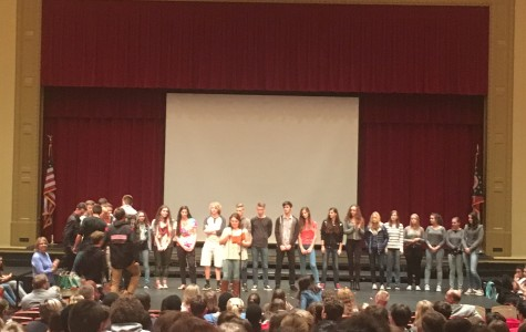 Assembly Welcomes German Exchange Students