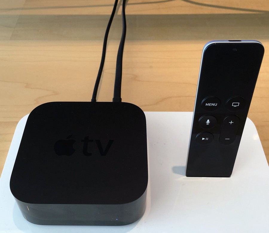 Apple even calls the new Apple TV