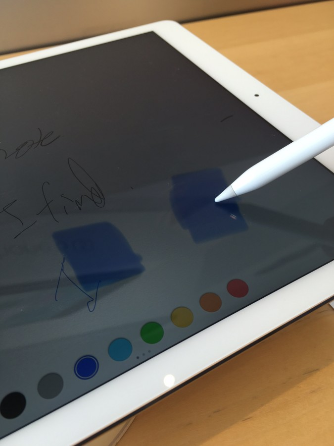 The 12.9-inch iPad Pro is a very expensive, very large, very powerful tablet that can be used with the extremely functional Apple Pencil stylus.
