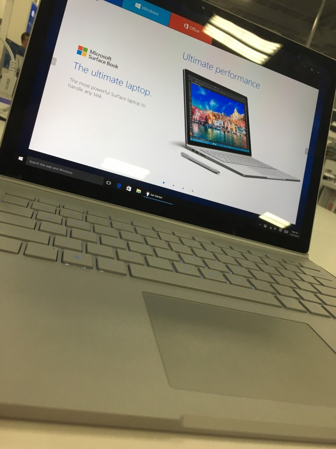 While the new Surface Book starts at $1,500,  its screen can separate from the laptop and become a tablet, running full Windows 10.