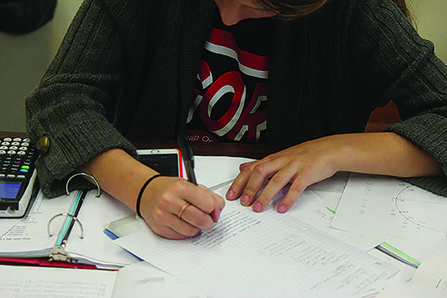 Cheating, although considered dishonorable by teachers and administration, is a common last resort for students burdened with high-level classes  and high-level aspirations. An informal Shakerite survey of such students revealed that 93 percent admitted to copying another student's homework in the past year.