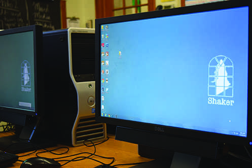 Shaker's computers, Dell  Otiplex 760 desktops, are sometimes equipped with Dual Core processors, which can make computers perform slowly when programs are open simultaneously.