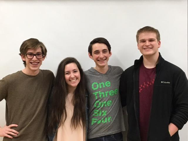 Sophie Browner, Asher and Lev Caruso and Evan Shaw all came to Shaker from small, Jewish day schools. Browner and Shaw attended The Joseph and Florence Mandel Jewish Day School in Beachwood, formerly known as The Agnon School, and the Caruso brothers attended Gross Schechter Day School in Cleveland.