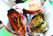 Barrio Tacos are perfect for a fun, cheap and delicious night out. The lively atmosphere and the colorful environment make for an all around positive experience.