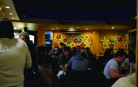 Inside of Johnny Mango World Cafe and Restaurant in Ohio City, guests converse in the lively and loud environment. Johnny Mango serves a variety of dishes, from Thai noodles to Mexican burritos. Although Johnny Mango is on the West Side of Cleveland, in the newly popular Tremont area, that does not mean it is hard to get to. A majority of the restaurants reviewed are on the West Side, and it is worth getting over the stigma of going over the river to get to this delicious ethnic food, from Indian to Mexican, Brazilian to Thai.
