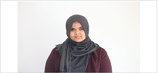 Arwa Elmashae: Muslim students can face many problems, I think, like ISIS. I think they feel like all of Muslim society is [like ISIS], and afraid of them. If [ISIS] hurts them, [Muslim students] sometimes get blamed . . . Students only know really the name of Islam, and that students who wear the hijab are Muslims, and that's it. They don't really know how the religion is, and how people practice it . . . I try to explain, and then the next time I try to explain, and it's like, 'Why are you doing this? Why are you doing this?' And sometimes I get tired of explaining each time. Like, 'We're doing that, because of that.'