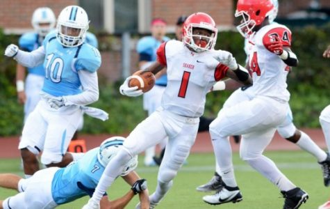 Shaker Fights Off Comeback in 35-19 Season Opener Victory