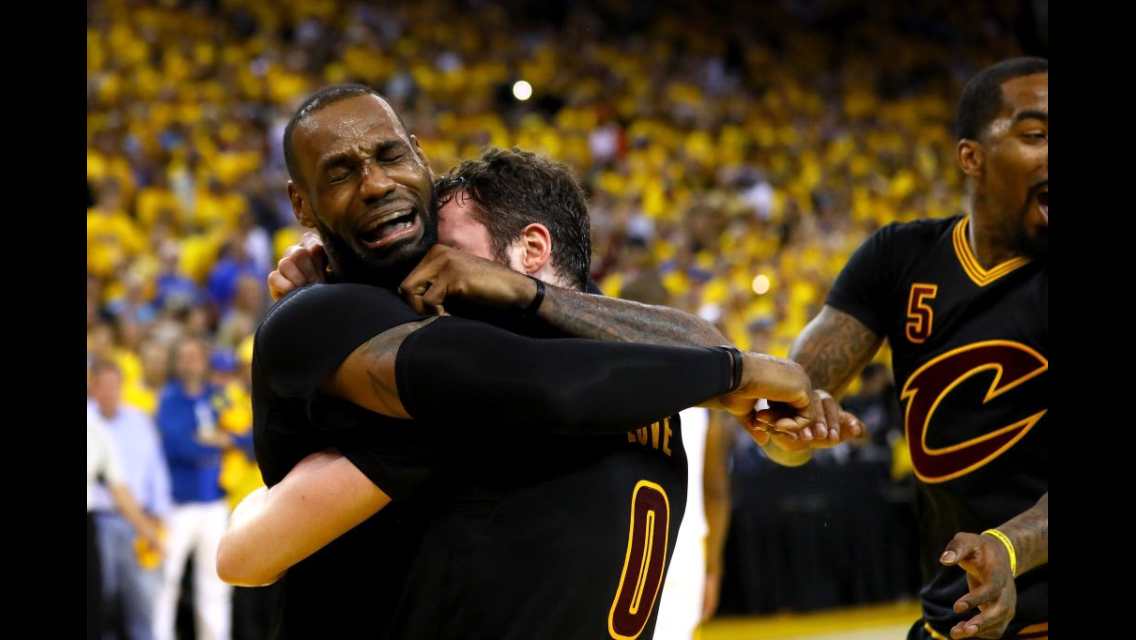 LeBron James brought Cleveland its first championship in 54 years in an emotional comeback over the Golden State Warriors in 2016.