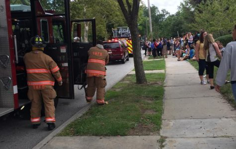 Faulty Fire Alarm Empties High School
