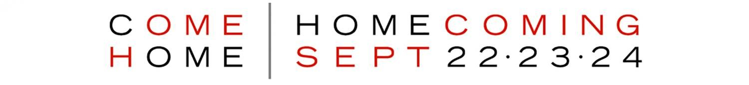 The logo created by Shaker for the come-home homecoming event.