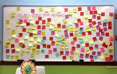 Writing Center Calls for Sticky Note Memoirs