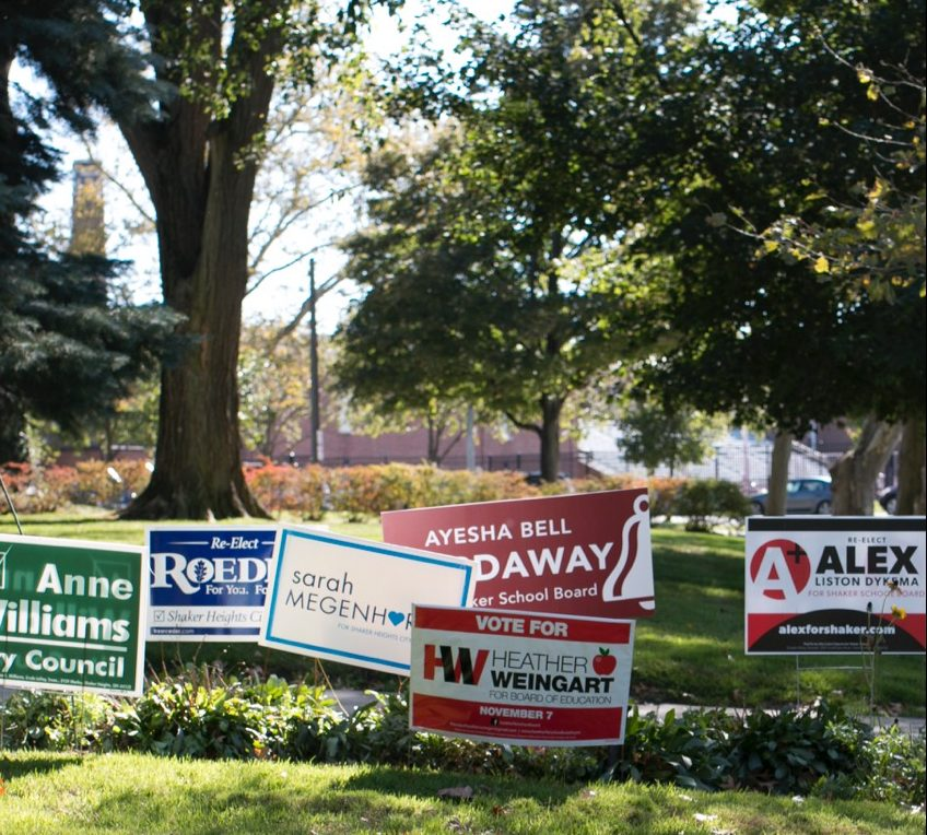 """Registered voters in Shaker will cast their ballots Nov. 7 to elect city council and school board members and vote on several issues.  """"We are a republic, we are a representative democracy, and if you want those you elect to make decisions that you support then you need to let them know what your choices are,"""