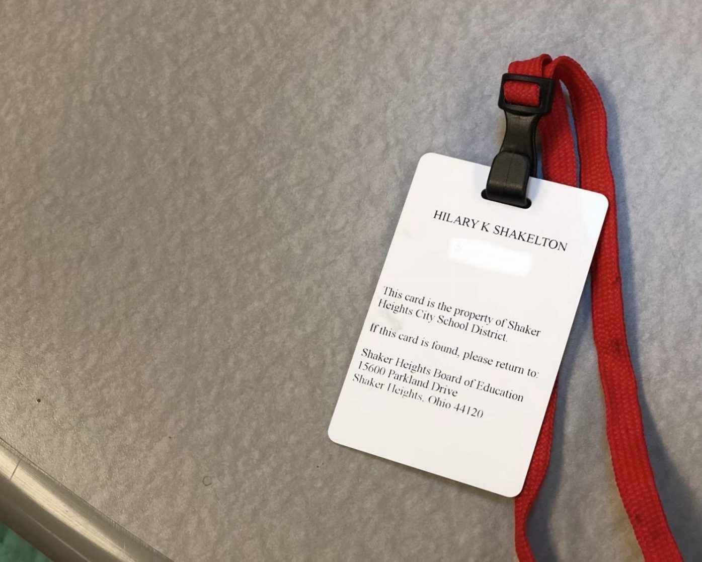 "Students will have to start wearing IDs during the school day, starting in the second semester.  However, ""I'm not sure if it would really make us that much safer,"" said sophomore Cecilia Zagara."