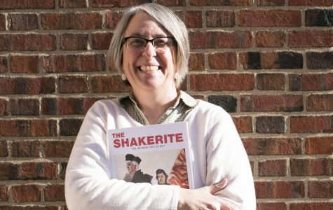 Shakerite Adviser Honored with Distinguished Secondary Teacher Award