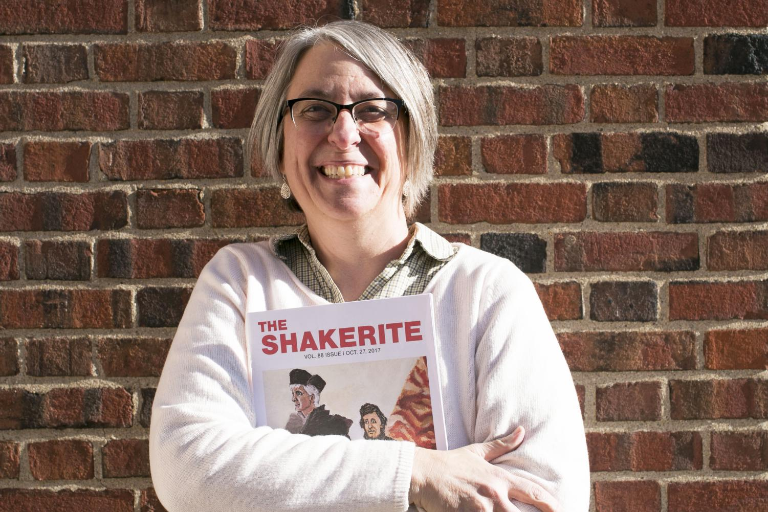 Shakerite Adviser and English teacher Natalie Sekicky and Shaker Heights High School will each be awarded $5,000 as part of Sekicky's 2018 Northwestern University Distinguished Secondary Teacher Award.