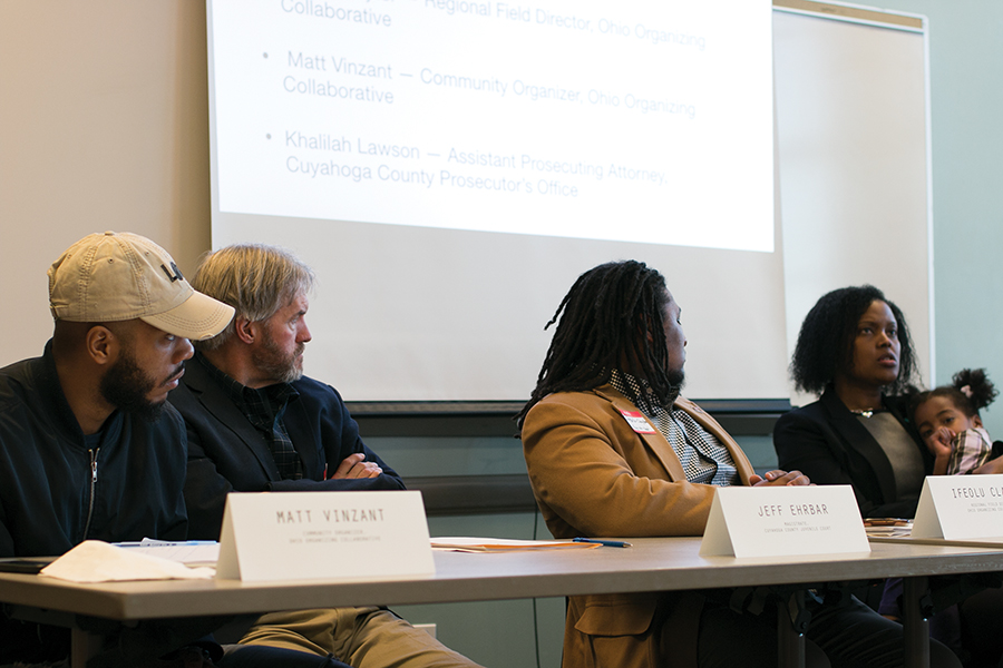 In their second forum, SGORR shared the following statistics: African-Americans comprise 13 percent of the U.S. population and are consistently documented by the U.S. government to use drugs at similar rates to people of other races. However, they comprise 29 percent of those arrested for drug law violations, and nearly 40 percent of those incarcerated in state or federal prison for drug law violations. Similarly, Latinos make up 18 percent of the U.S. population, but comprise 38 percent of people incarcerated in federal prisons for drug offenses.