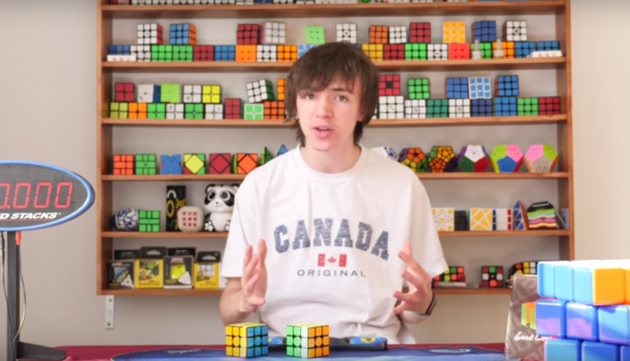 In addition to cubing, Lewicki also posts videos about cubing on his YouTube Channel, LaZer0MonKey. The content of his channel varies from breakdowns, or explanations, of solves to reviews of different puzzle brands and his experiences at cube competitions.