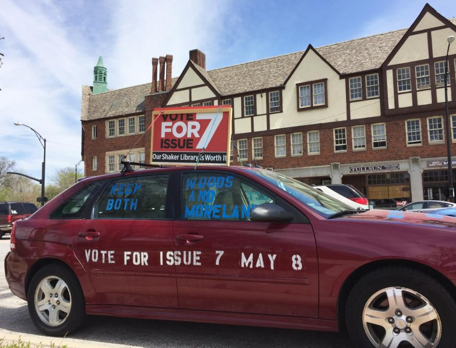 Issue 7 has been endorsed by various community groups, such as the Shaker Heights League of Women Voters and the Democratic Club, and by elected officials, including Board of Education President Jeffrey Isaacs.