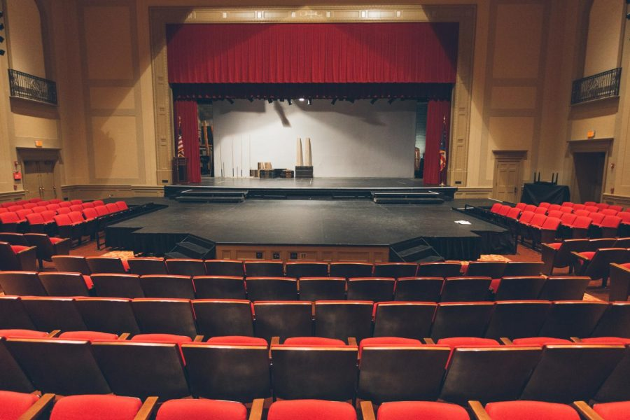 Theatre+Department+Chairman+Scott+Sumerak+has+taken+on+McBurney%27s+theater+arts+teaching+duties.+
