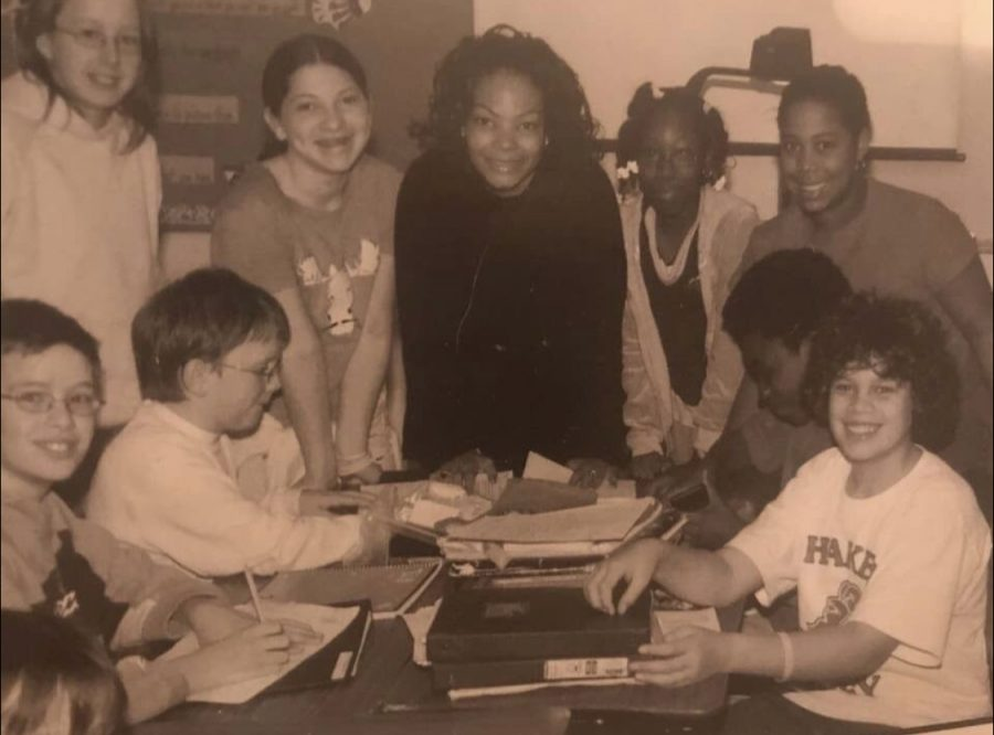 "A photo of a page in the 2004-2005 Woodbury yearbook depicts Fraser among some of her students. ""Ms. Fraser was my sixth grade math teacher who had an impact on my education and I will forever be grateful,"" former student Kendall Marbury wrote at gofundme.com."