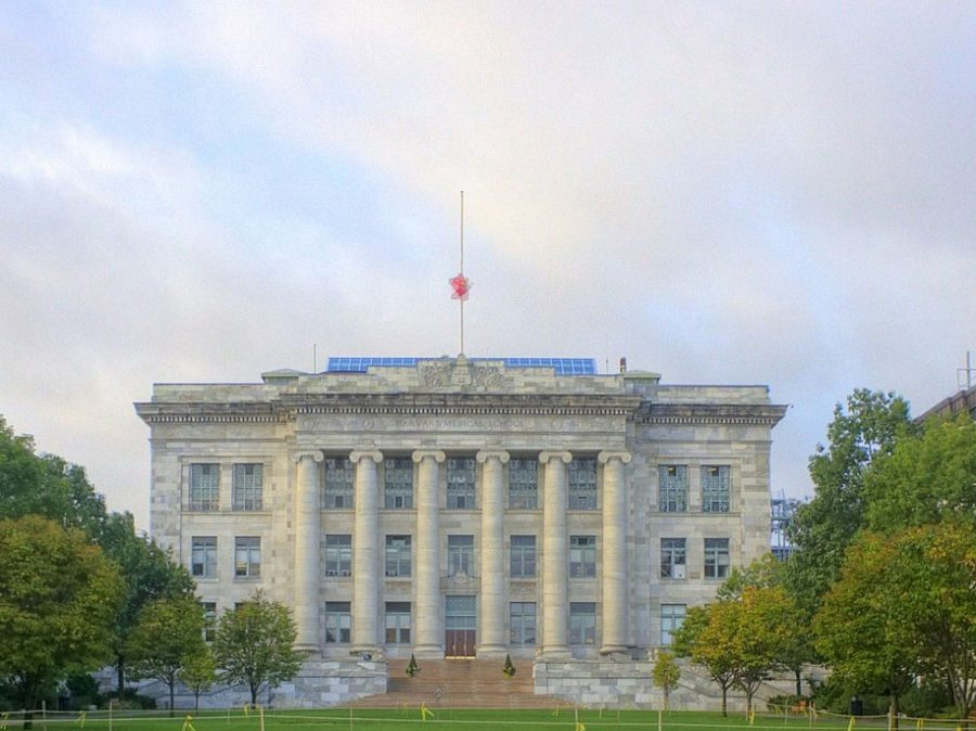 Harvard Medical School, the oldest medical school in the country, on the Harvard University campus in Cambridge, Mass. Harvard's undergraduate admissions practices are the subject of a lawsuit alleging discrimination against Asian applicants.