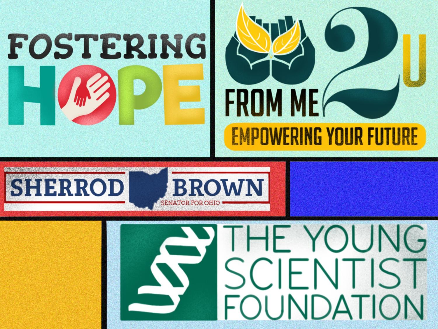 Dozens of internships are available around the Cleveland area, including Fostering Hope, the CAMHP Foundation, the Young Scientist Foundation, From Me 2 U, and with the Sherrod Brown campaign.