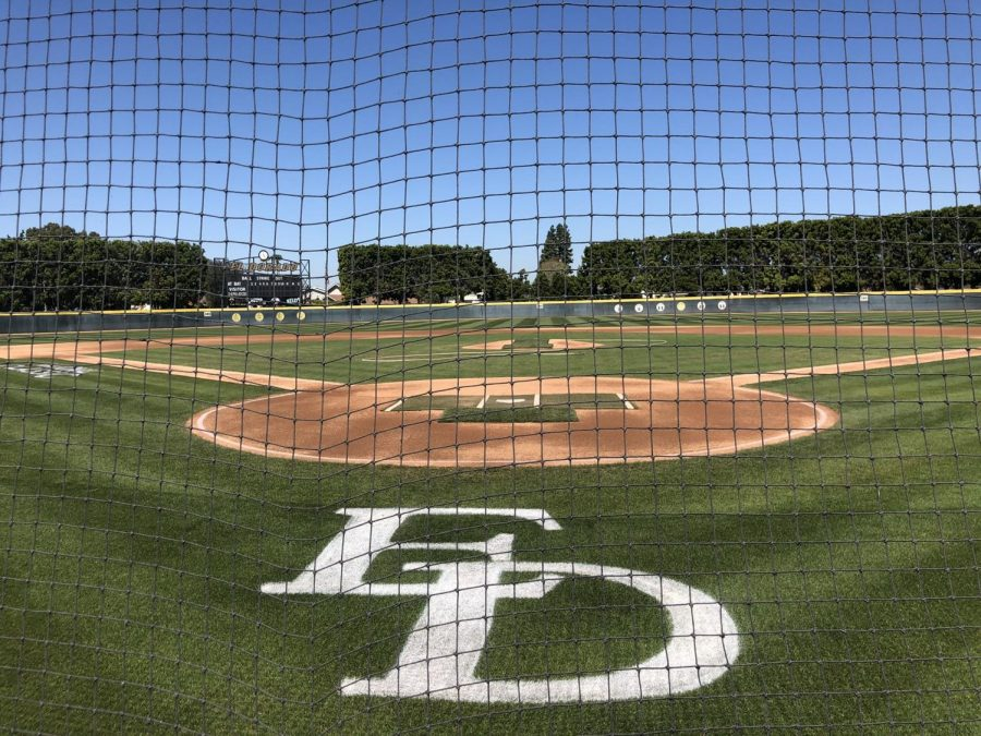 The varsity baseball team traveled to El Dorado High School in Los Angeles, California to compete in the National Classic Tournament.