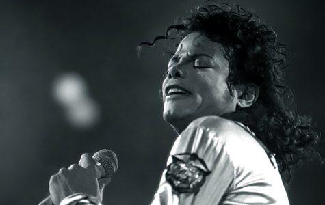 Michael Jackson in concert in 1988.