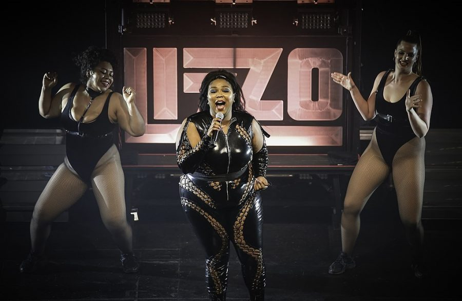 Lizzo+performing+at+The+Palace+in+St.+Paul.+