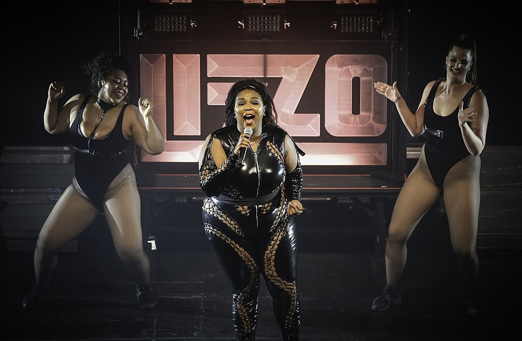 Lizzo performing at The Palace in St. Paul.