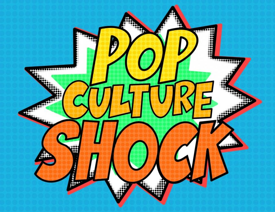 Pop culture shock art